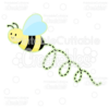 Cute-Bumble-Bee-Free-SVG-Cut-File-Clipart