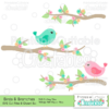 Birds-on-Branches-SVG-Cut-Files-Clipart-Set-