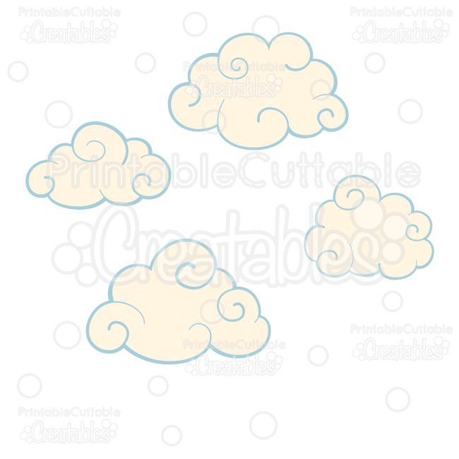 Swirly-Clouds-SVG-Cut-Files-Clipart-