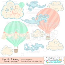 Up-Up-and-Away-Hot-Air-Balloon-SVG-Cut-Files-Clipart-Set