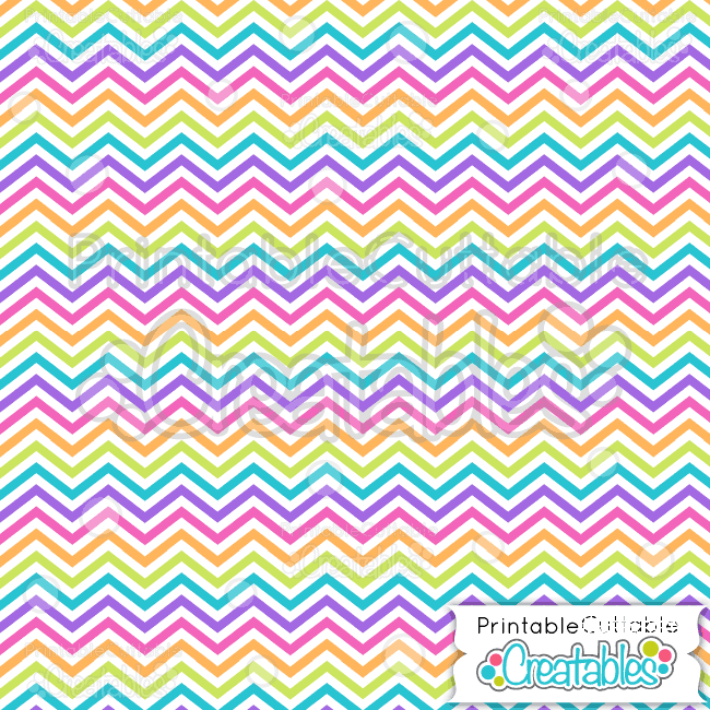 05 Happy Birthday Chevron Seamless Pattern