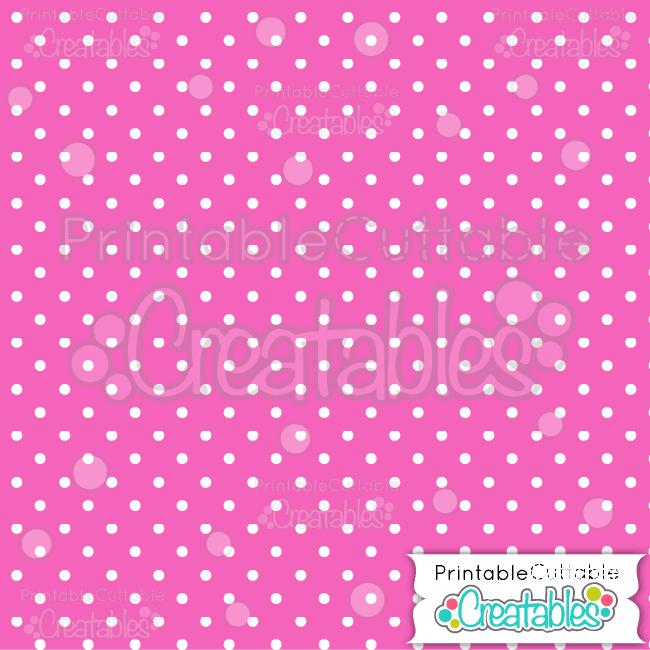 05 Pink Polka Dots Seamless Pattern