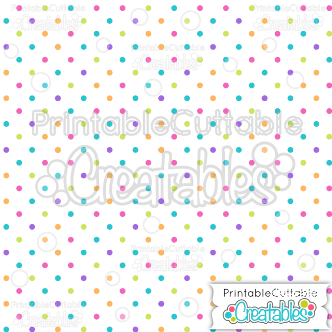 12 Birthday Polka Dot on White Seamless Pattern