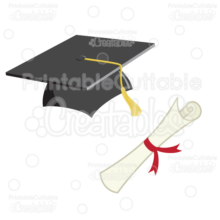 Cap-Diploma-Graduation-SVG-Cut-File-Clipart