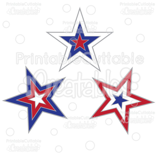 Patriotic-Stars-Free-Clipart-Free-SVG-Cut-Files