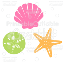 Sea-Shells-Free-SVG-Cutting-Files-Clipart