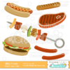 Grilled-BBQ-Foods-SVG-Cut-File-Clipart-Set