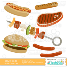 Grilled-BBQ-Foods-SVG-Cut-File-Clipart-Set