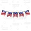 Patriotic Flag Banner Free Cut File & Clipart