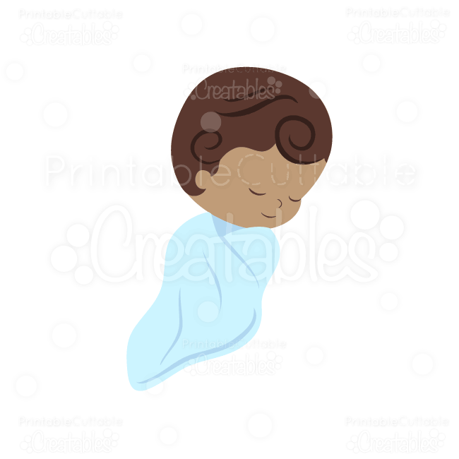 E011 Sweet Baby Boy SVG clipart preview1