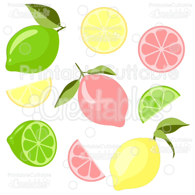 Lemons-n-Limes-SVG-Cut-Files-Clipart