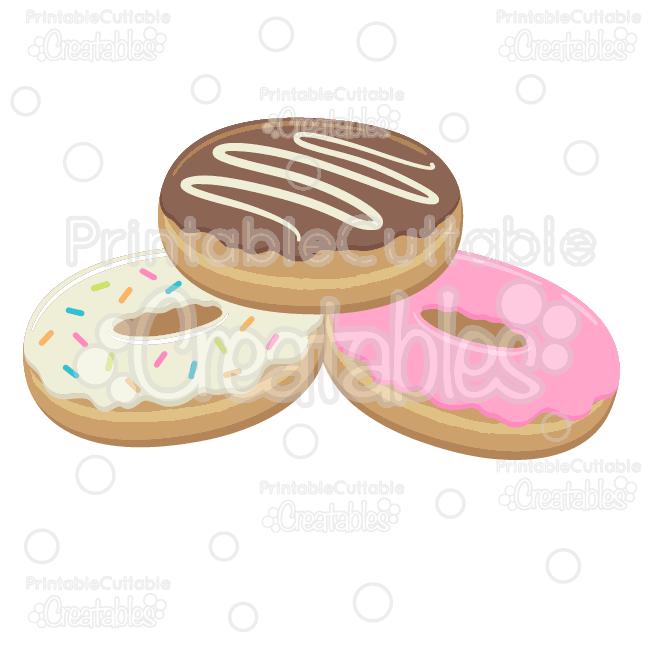donut svg cut file doughnut clipart rh printablecuttablecreatables com doughnut clipart png donut clipart cute