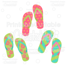 Flip-Flops-SVG-Cutting-Files-Clipart