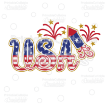 Firecracker-USA-Title-Scrapbook-SVG-Cut-File-Clipart