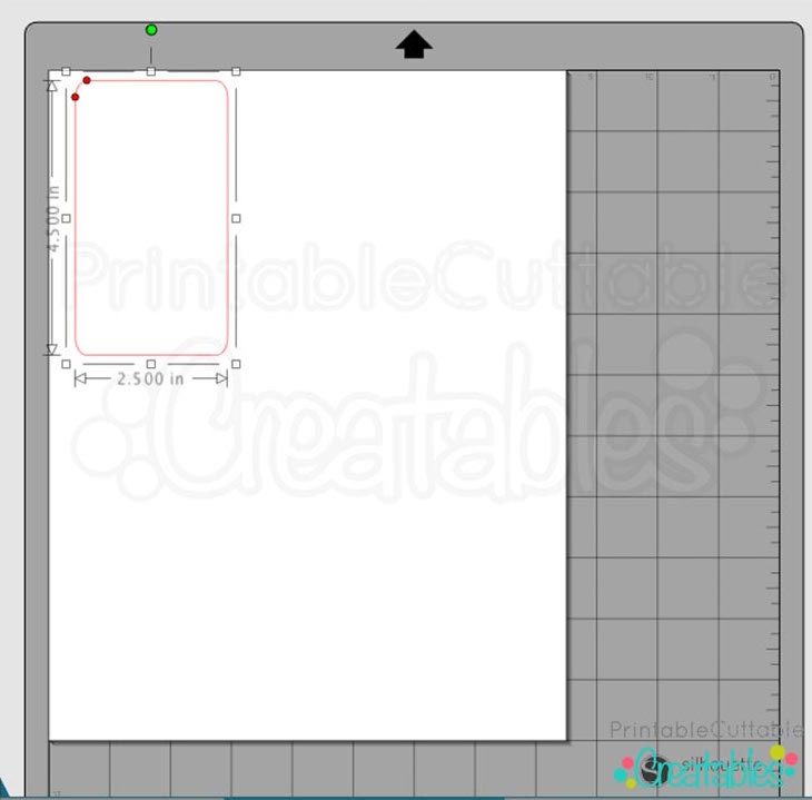 1-Prepare Vinyl Design Draw Rectangle