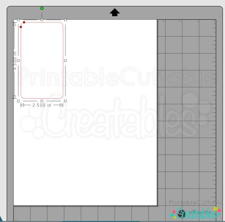 1-Prepare Vinyl Design Draw Rectangle