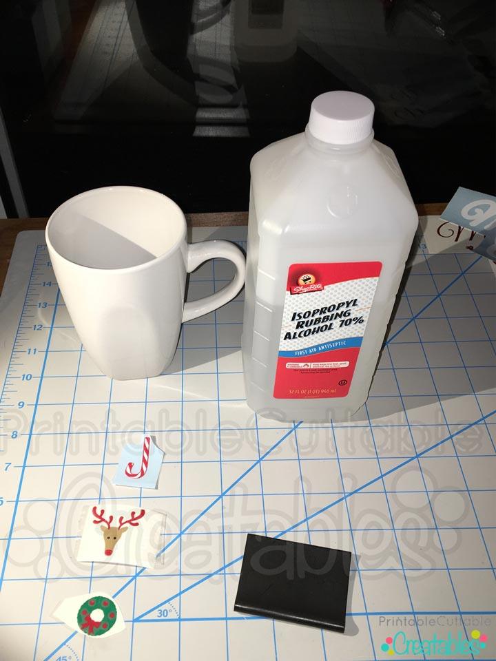 Clean Surface before applying vinyl