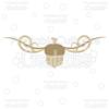 Fancy Swirls Autumn Acorn Free SVG Cut File
