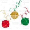Christmas Sleigh Bells SVG Cutting Files & Clipart