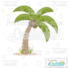 Tropical Palm Tree FREE SVG Cut File & Clipart