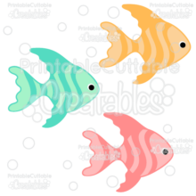 Tropical Fish FREE SVG Cut File & Clipart