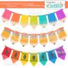 Lil Crayons & Pencils Banners Set SVG Cut File & Clipart