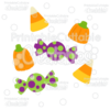 Halloween Candy SVG Cut Files & Clipart