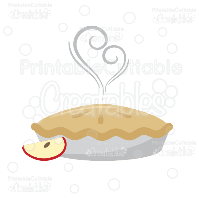 yummy apple pie svg cut file clipart rh printablecuttablecreatables com apple pie clipart png apple pie clipart free