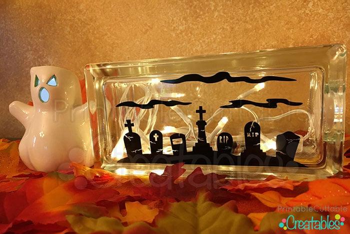 Lighted Glass Block Crafts Tutorial
