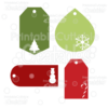 Christmas Gift Tags FREE SVG Cut Files
