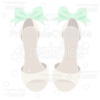 Dressy Wedding Shoes SVG Cut File & Clipart