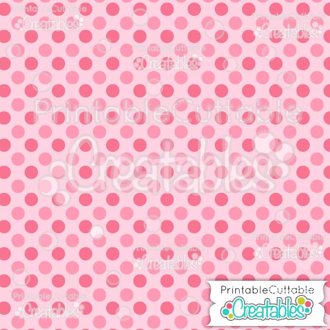 09 Dk Multi Pink Large Polka Free Seamless Patterns Digital Paper preview
