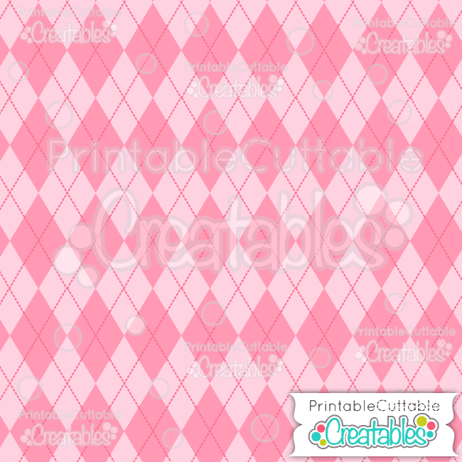 13 Pink Argyle Digital Paper Seamless Pattern Tile preview