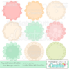 Sweet Lace Doilies SVG