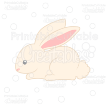 Cute Bunny Cuttable SVG File