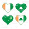 Irish Hearts FREE SVG Cut File & Clipart Set