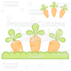 Planted Carrots Free SVG Cut File