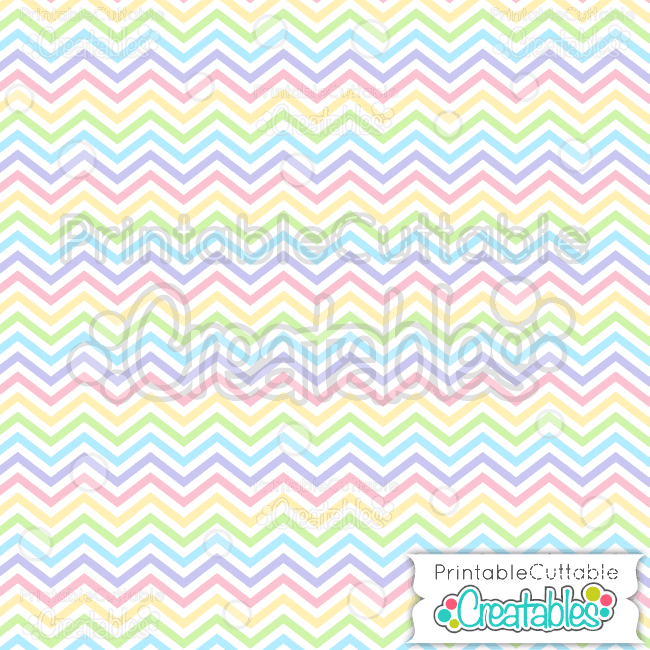 03 Easter Chevron Seamless Pattern Digital Paper Preview