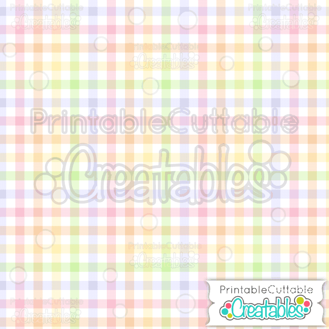 08 Easter Check Plaid Seamless Pattern digital Paper Preview