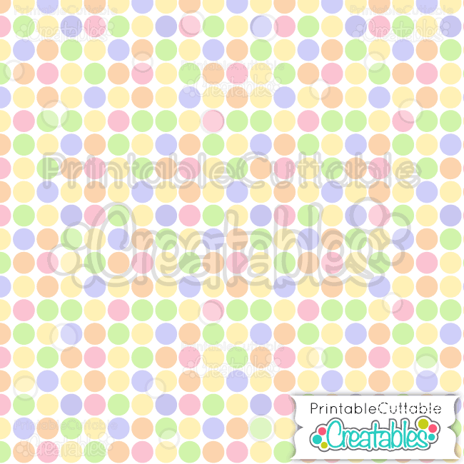 10 Easter Large Geo Dots Seamless Pattern Digital Paper Preview