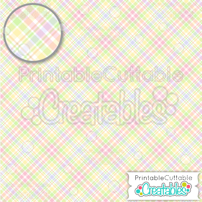 11 Easter Plaid Seamless Pattern Digital Paper Preview