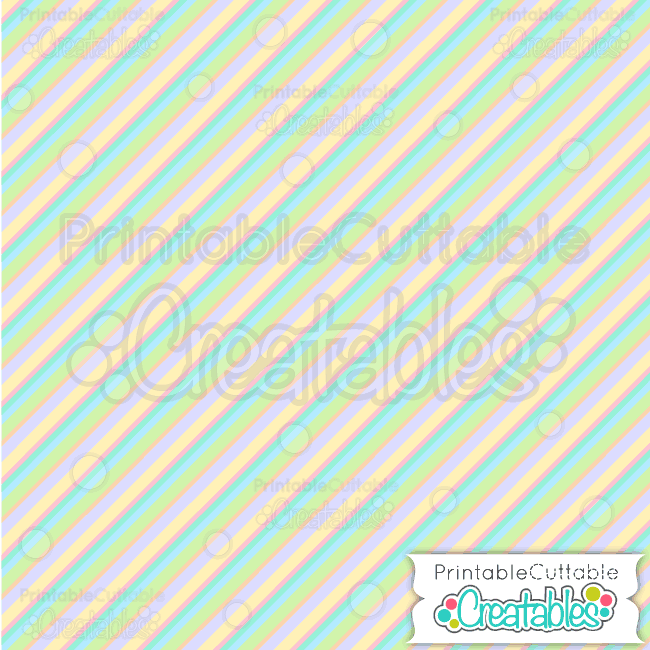 17 Easter Diagonal Stripe Seamless Pattern Digital Paper Preview