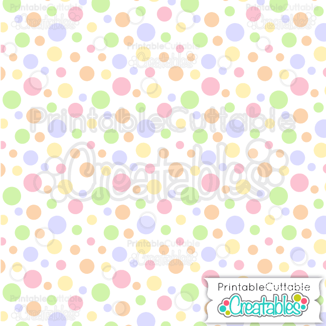 20 Easter Tossed Dots Lavender Seamless Pattern Digital Paper Preview