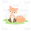 Cute Woodland Fox SVG Cut File & Clipart
