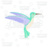 Hummingbird FREE SVG Cut File & Clipart