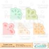 Sweet Lace Photo Corners SVG Cut File Set