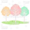 Woodland Birch Trees Cuttable SVG Files