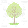 Woodland Tree Cuttable SVG File & Clipart