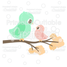 Mama & Baby Owl Cuttable SVG File