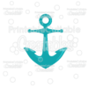 Ship Anchor Free SVG Cut File